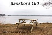 Bänkbord 160