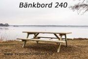 Bänkbord 240